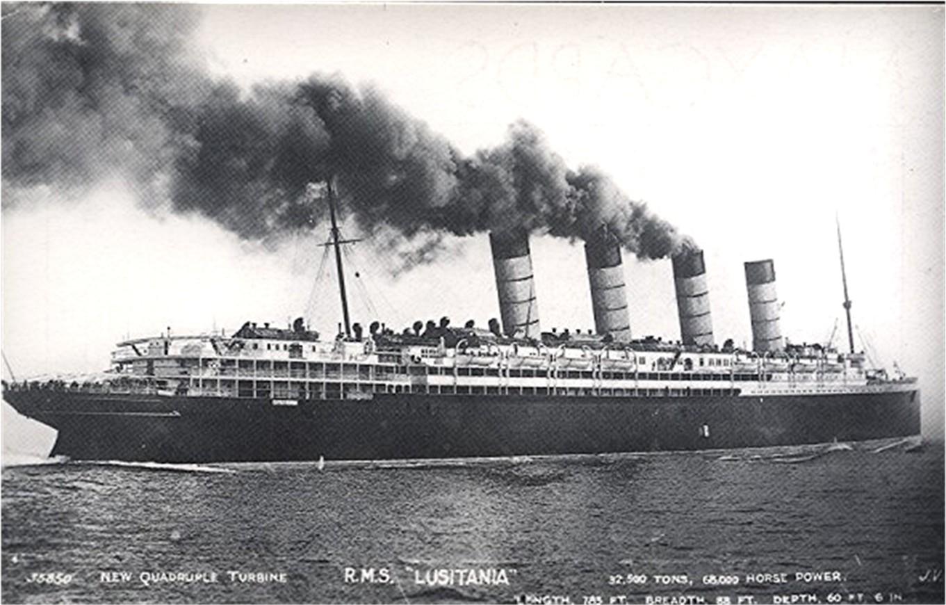 RMS Lusitania - Cunard...